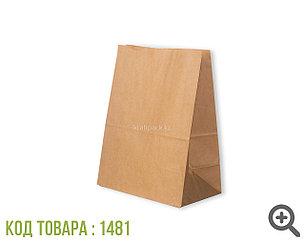 Пакет крафт 70гр, с прямоугольным дном 260*150*340 мм (450шт/уп)