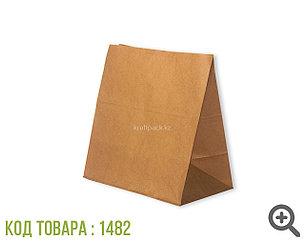 Пакет крафт 70гр, с прямоугольным дном 320*200*340 мм (500шт/уп)