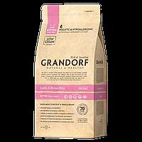 500021 GRANDORF Kitten, Грандорф сухой корм для котят, ягнёнок с бурым рисом, уп.2 кг