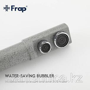 Смеситель для кухни с питьевым каналом серый Frap F4352-22, фото 2