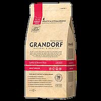 502025 GRANDORF Adult Indoor, сухой корм для взрослых кошек, ягнёнок с бурым рисом, уп. 2 кг
