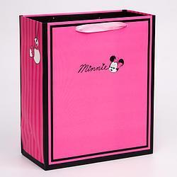 """Пакет ламинат вертикальный """"Minnie"""", Минни Маус, 23х27х11,5 см   4628793"""