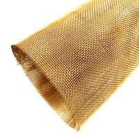 Сетка латунная тканая 0,03х0,04х0,04 мм Л68 ГОСТ 6613-86
