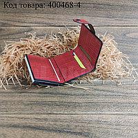 Картхолдер держатель для карт и визиток с RFID защитой экокожа KH-328 красный
