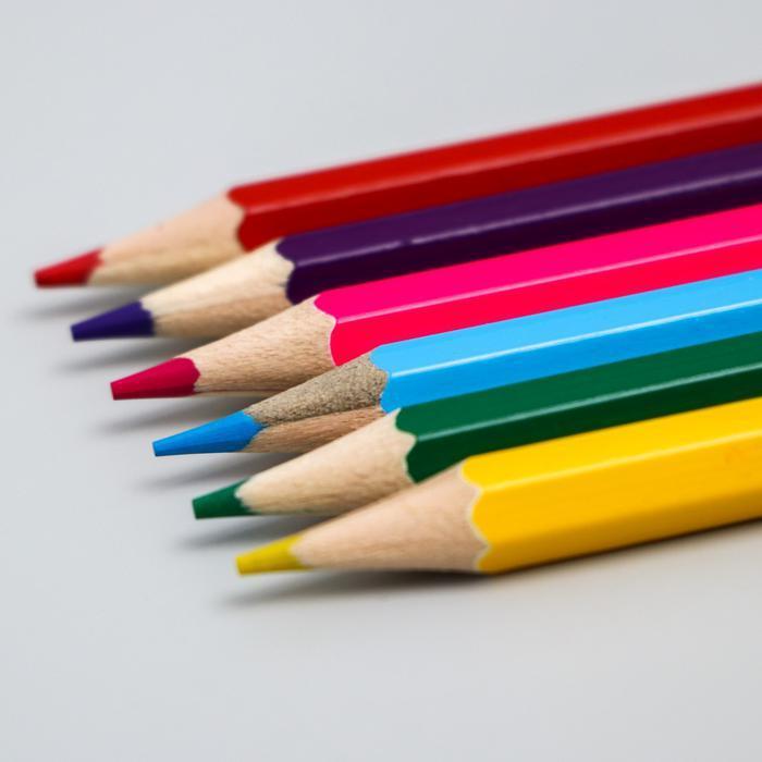 """Карандаши цветные, 6 цветов """"Принцессы Дисней"""", Принцессы   5012649"""
