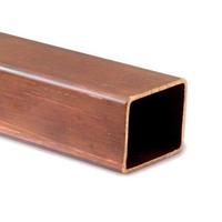 Труба медная квадратная 6х6х1,5 мм М1р ГОСТ 16774-2015 тянутая