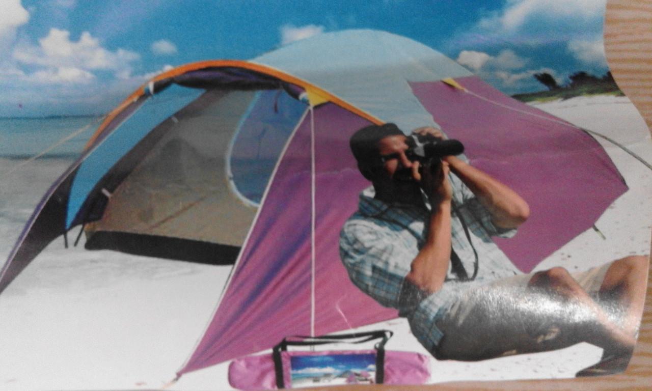 Палатка двухслойная - фото 1