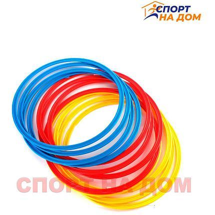 Кольца футбольные 12 шт в упаковке (кольца для тренировок по футболу), фото 2