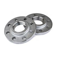 Фланец плоский свободный на отбортовке кольце стальной ГОСТ 33259-2015