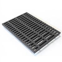 Решетка водоприемная чугунная DN100 1000х163х100 мм