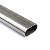 Труба стальная овальная 55х32х2,5 мм 09Г2С (09Г2СА) ГОСТ 13663-86 бесшовная