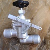 Клапан (вентиль) быстрозапорный фланцевый стальной 19нж957р ТУ 26-07-1149-77