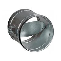 Клапан (вентиль) дроссельный с концами под приварку с редуктором, конической передачей, с электроприводом