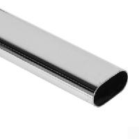 Труба стальная плоскоовальная А 32х12х1 мм Ст3кп (ВСт3кп) ГОСТ 13663-86