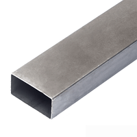 Труба стальная прямоугольная 100х40х6 мм 08пс ГОСТ 13663-86 печная сварка