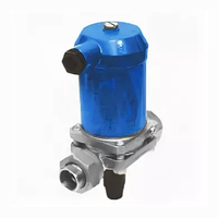 Клапан (вентиль) угловой с электроприводом 14нж930бк ТУ 1417-63