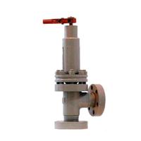 Клапан (вентиль) угловой сильфонный с гидравлической защелкой (с патрубками под приварку) 14с715ст ТУ 740-55