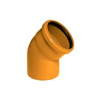 Колено раструб - гладкий конец чугунное УРГ ГОСТ 5525-88 литое