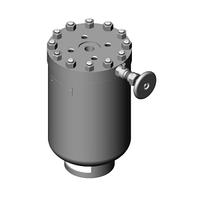 Кран двойной регулировки шаровой муфтовый 11Б29п ТУ 26-23-005-90