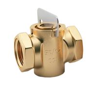 Кран натяжной газовый муфтовый алюминиевый 11а10бк ГОСТ 21345-78