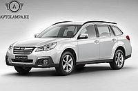 Переходные рамки на Subaru Outback (2012)