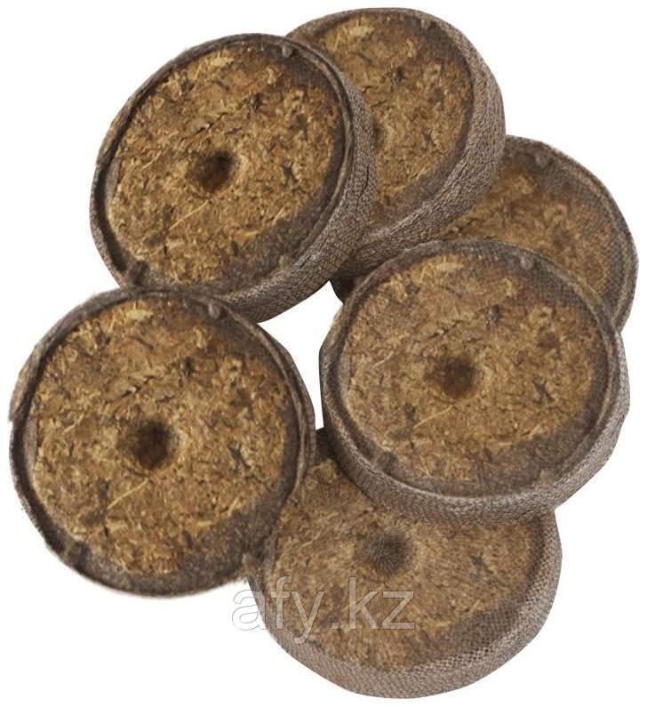 Торфянные таблетки маленькие 27 мм