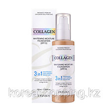 Тональный крем Enough Collagen Whitening 3in1 Moisture Foundation SPF 15 ,100мл