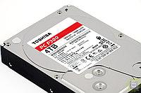 Жёсткий диск HDD 4 Tb SATA 6Gb-s Toshiba P300 HDWD240UZSVA 3.5* 5400rpm 64Mb