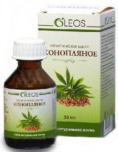Конопляное масло косм.с вит-антиоксидант комплексом 30мл Олеос