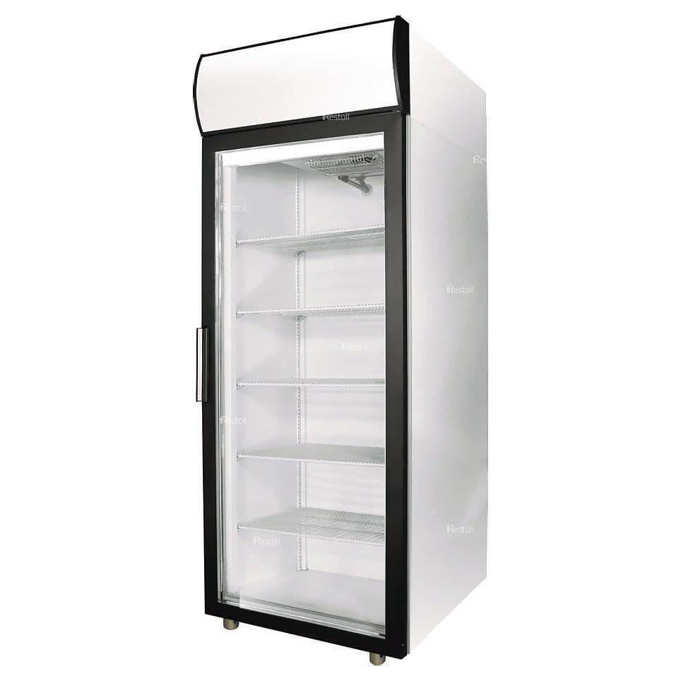 Шкаф холодильный Polair DP105-S + механический замок