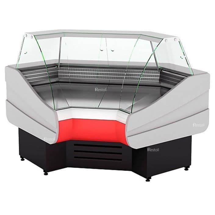 Витрина холодильная Cryspi Octava IC 90° угол внутренний