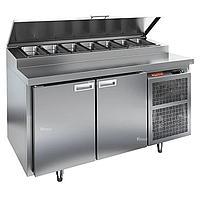 Стол холодильный для пиццы Hicold PZ1-11/GN (7xGN1/3)