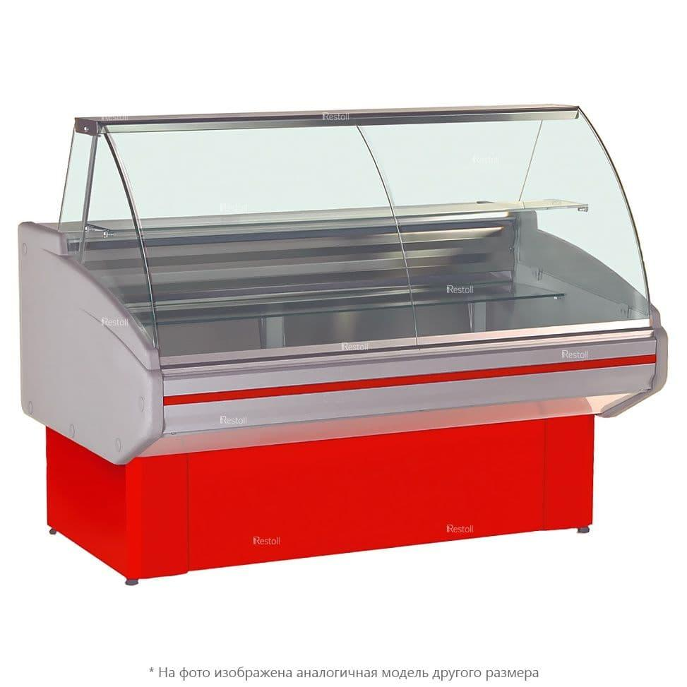 Витрина холодильная Golfstream Двина-150ВС-0,53-1,13-1-4Х, красная