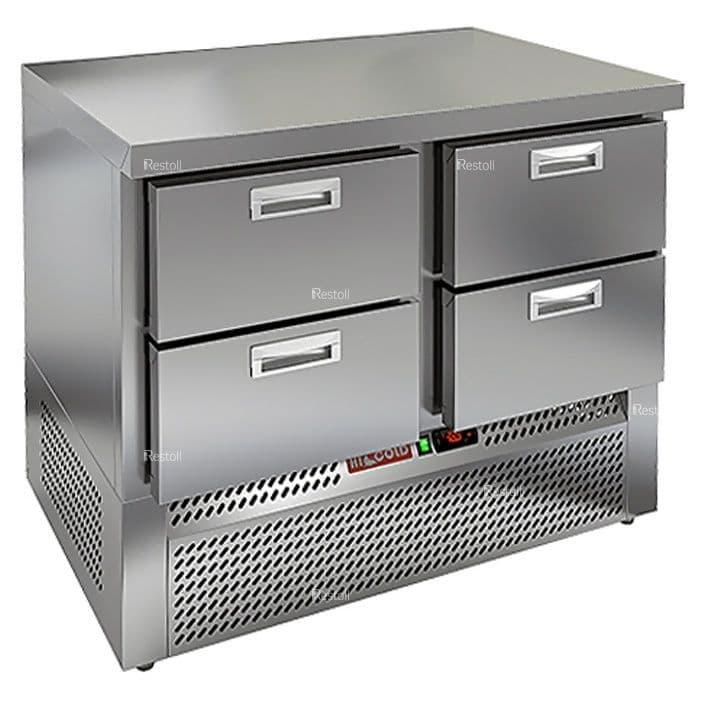 Стол холодильный Hicold GNE 22/TN O ..-2/+10°С