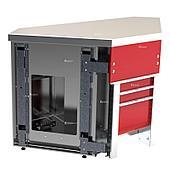 Прилавок нейтральный внутренний угловой 90 градусов Челябторгтехника «Refettorio Case» RU20A90