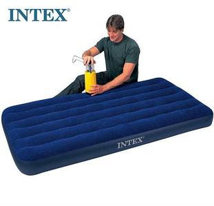 Матрас надувной INTEX Classic Downy Airbed (64757, 99х191х25 см)
