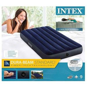 Матрас надувной INTEX Classic Downy Airbed (64757, 99х191х25 см)