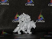 Фигурка Warhammer орк на волке
