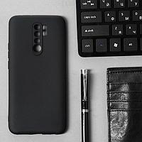 Чехол Innovation, для Xiaomi Redmi 9, силиконовый, матовый, черный