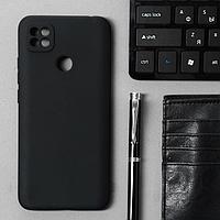 Чехол Innovation, для Xiaomi Redmi 9C, силиконовый, матовый, черный