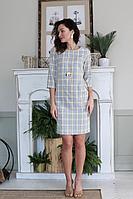 Женское осеннее платье Juliet Style Д196 46р.