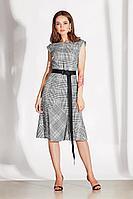 Женское осеннее серое деловое платье Noche mio 1.096 42р.