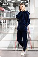 Женский осенний трикотажный синий спортивный спортивный костюм GO F3008/20-04.170-176 42р.