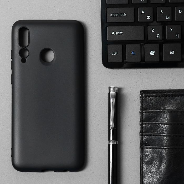 Чехол Innovation, для Huawei Honor 10i/20 Lite, силиконовый, матовый, черный - фото 10