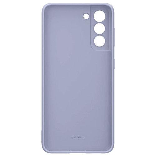 Samsung Чехол для Galaxy S21 Plus Silicone Cover violet аксессуары для смартфона (EF-PG996TVEGRU)