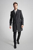 Мужское осеннее драповое серое пальто Gotti 060-3 46р.