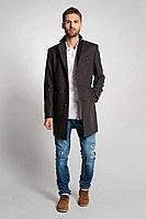 Мужское осеннее драповое коричневое пальто Gotti 058-6 46р.