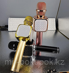 Беспроводной Bluetooth караоке-микрофон с USB входом с изменением голоса YS-69