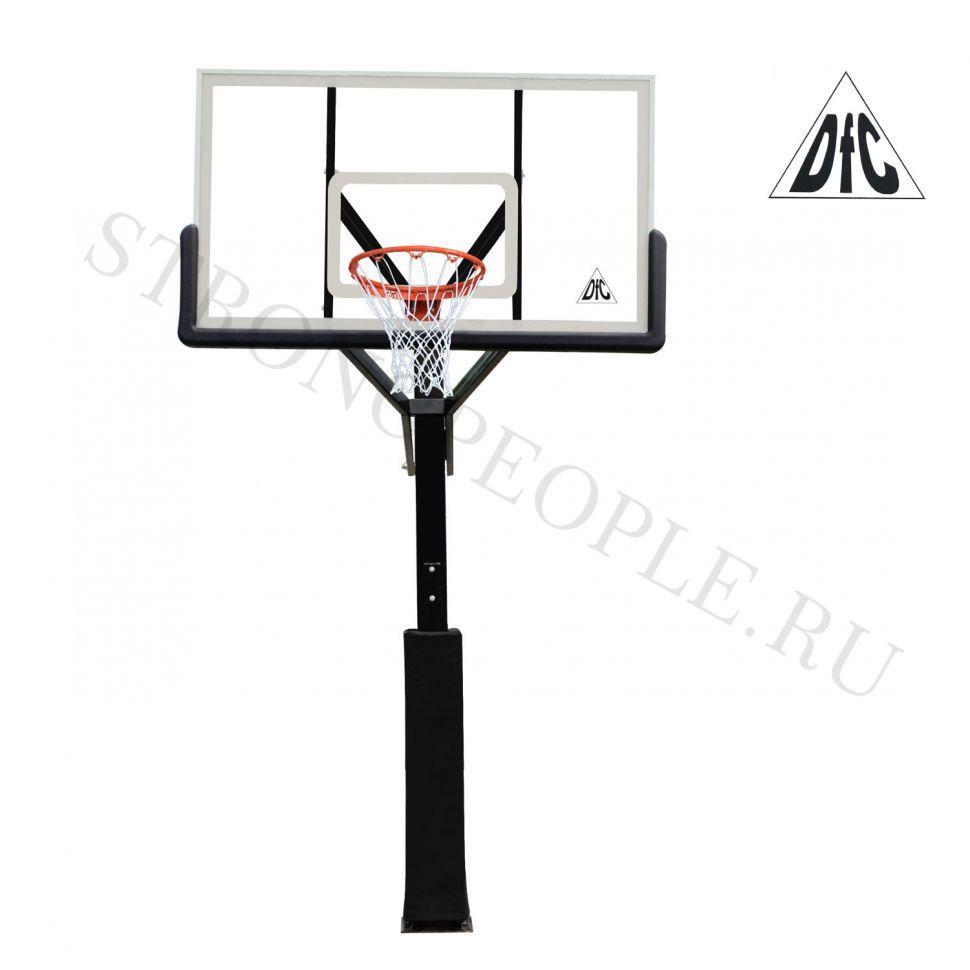 Стационарная баскетбольная стойка DFC ING72G