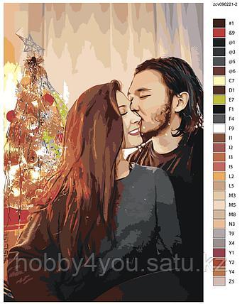 Картина по номерам красками 40х60см по фото на деревянном подрамнике, фото 2